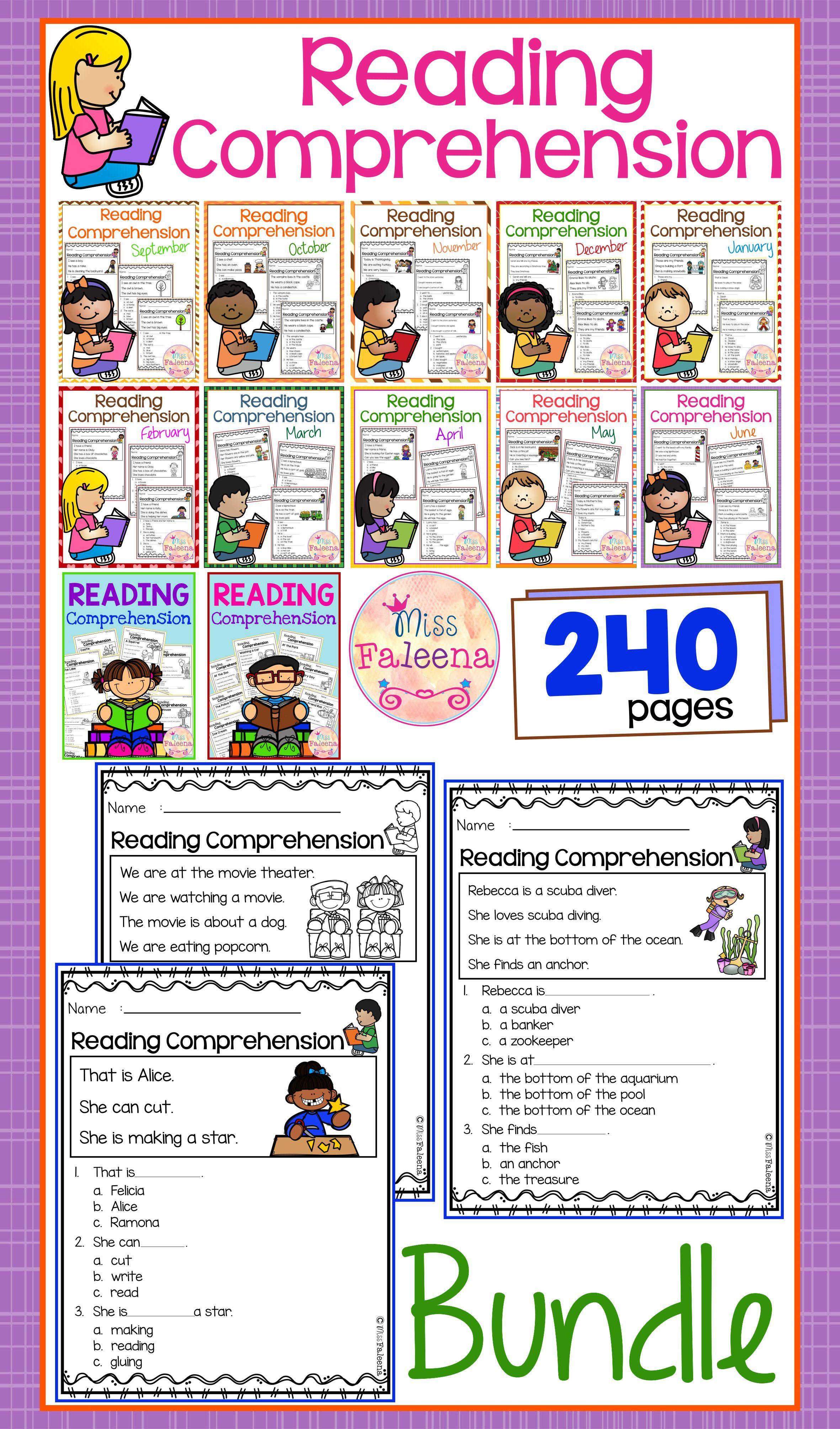 Reading Comprehension The Bundle