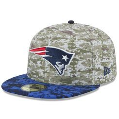Men s New England Patriots New Era Camo 2015 Salute to Service On-Field  59FIFTY Fitted Hat 6e40b621a