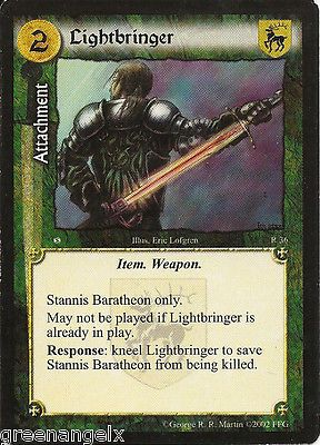 A game of #thrones ccg #(asos) - #lightbringer,  View more on the LINK: 	http://www.zeppy.io/product/gb/2/361618684644/
