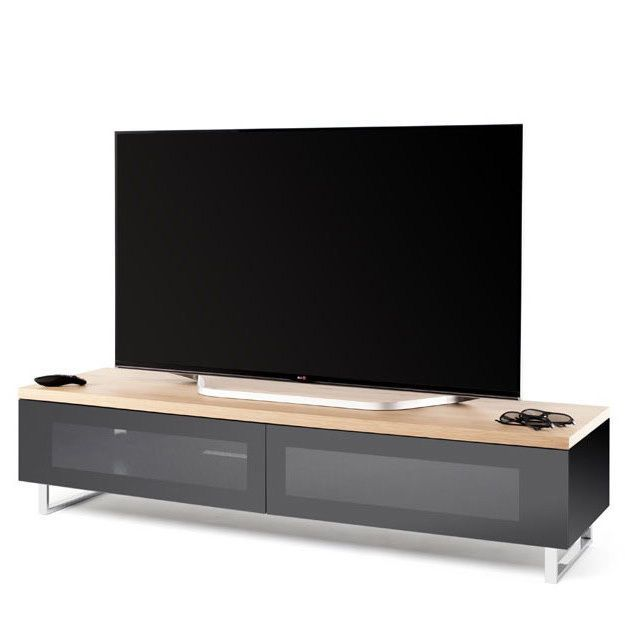 Retro TV Cabinet Modern Television Stand Contemporary Wooden Unit ...