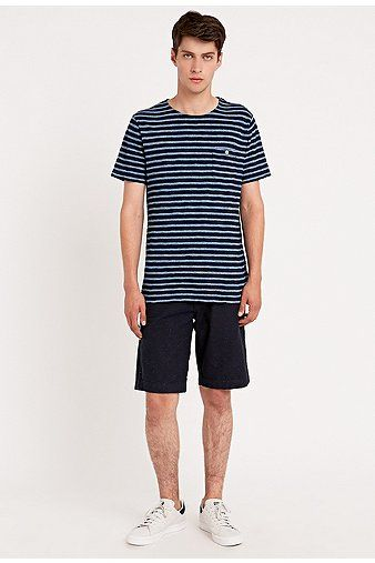 """Shore Leave by Urban Outfitters - Shorts """"Blake"""" in Marineblau"""