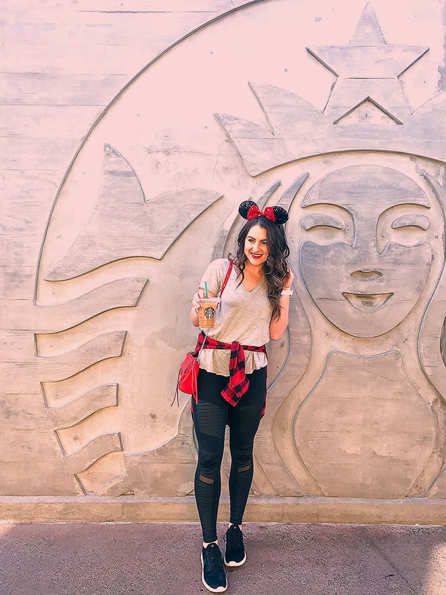 Photo of What to wear to Disneyland in January. | Topknots and Pearls