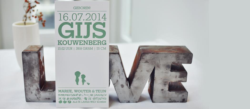 Geboortekaartje-Letterpress-Gijs