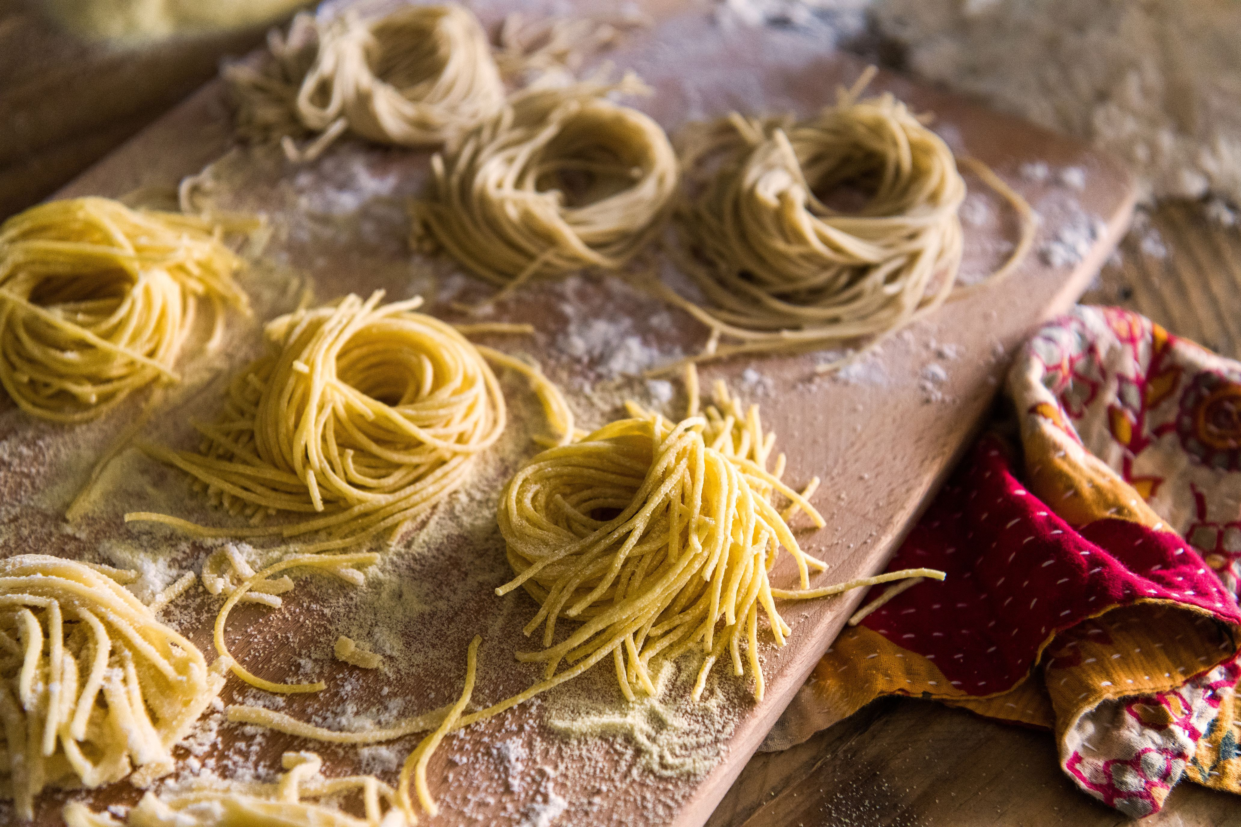 Homemade pasta using the philips pasta maker giveaway