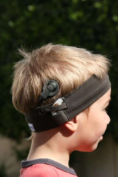 Headbands For Baby And Toddler To Secure Cochlear Implants Sports Headbands For Cochlear Implants Cochlear Cochlear Implant Implants