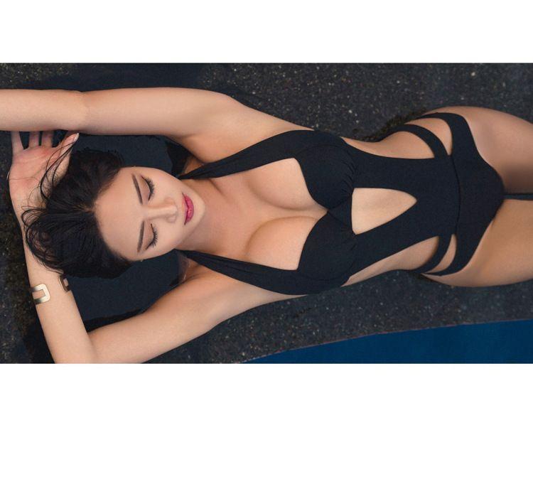 Traje De Baño Mujeres Cabestro De Una Sola Pieza Bañadores Bikini Monokini Trikini Ropa De Baño Mar Y Piscina