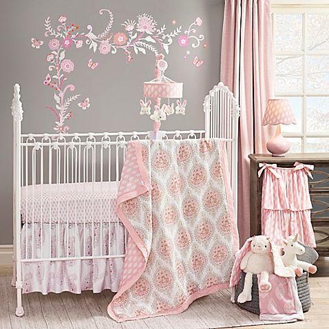 New Gingham Crib Bedding Set 3 Or 4 Piece Drape Free Heart Bumper Quilt Nursery Bedding Sets