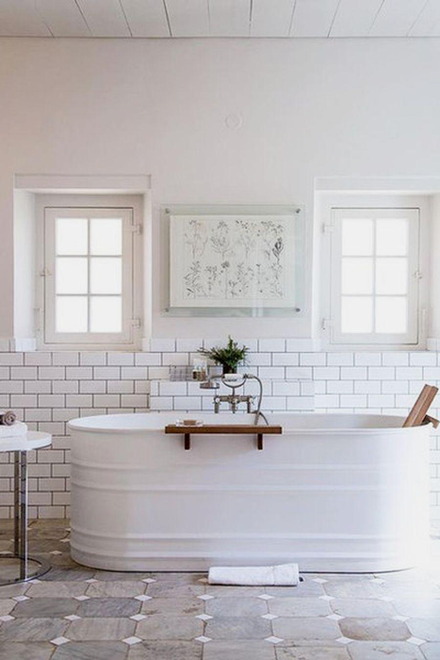 12 Awesome Farmhouse Bathroom Renovation Designs For Your Bathroom