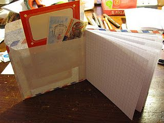 Air Mail Notebook Tutorial