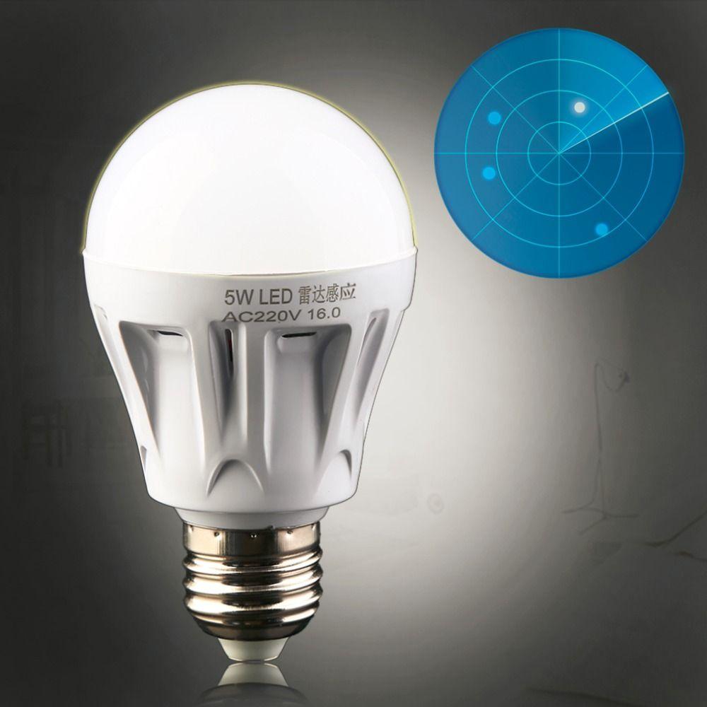 Encontrar Mas Bombillas Led Y Tubos Informacion Acerca De 1 Unid 2016 Recien Llegado De E27 Led Radar De Microondas Luz De Lampara Sensor De Luz Bombillas Led