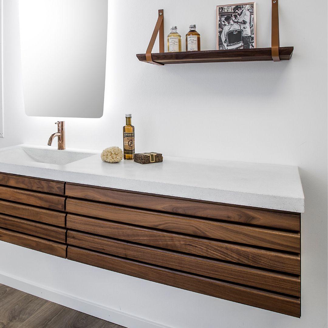 Badeværelse med glød
