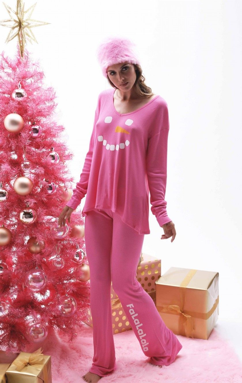 Frosty Face Polar Pajama Set Pajamas, Pajama set