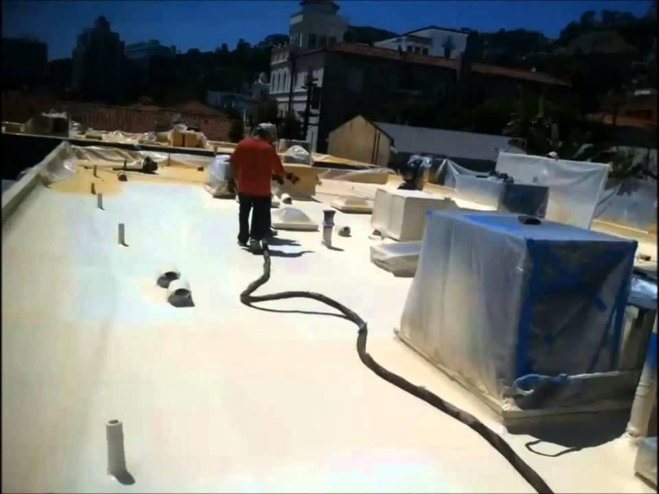 Youtube Roof Coating Roof Coatings Foam Roofing