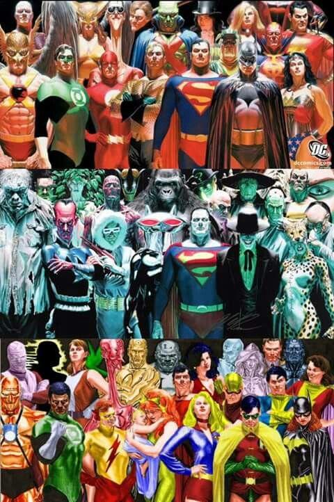Dc Comics By Alex Ross Galeria De Personagens Reino Do Amanha