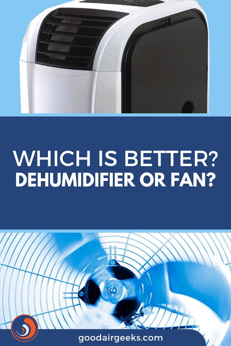 Dehumidifier vs Fan Which is Better? Dehumidifiers, Air