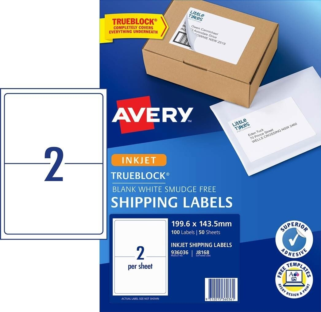Avery Shipping Labels 2 Per Page Calep Midnightpig Co Inside Labels 8 Per Sheet Template Word Avery Shipping Labels Shipping Labels Labels