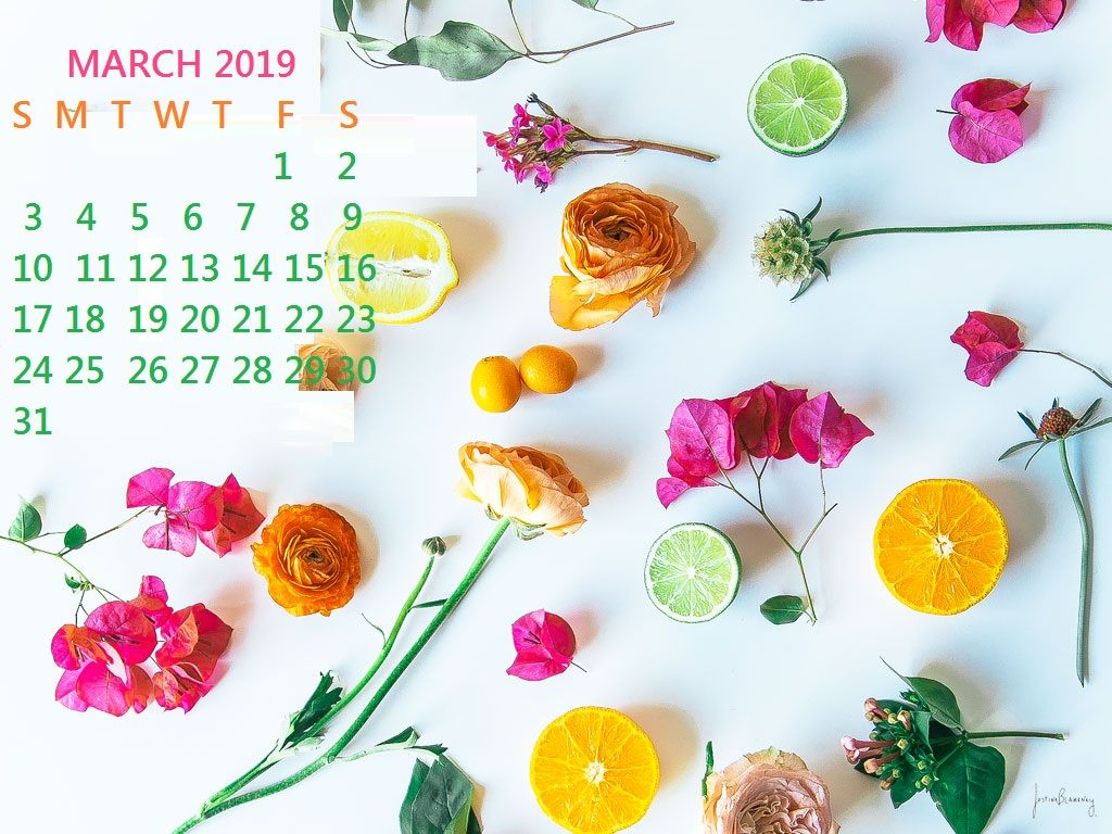 March 2019 Desktop Calendar Wallpaper Spring Desktop Wallpaper Free Desktop Wallpaper Spring Wallpaper