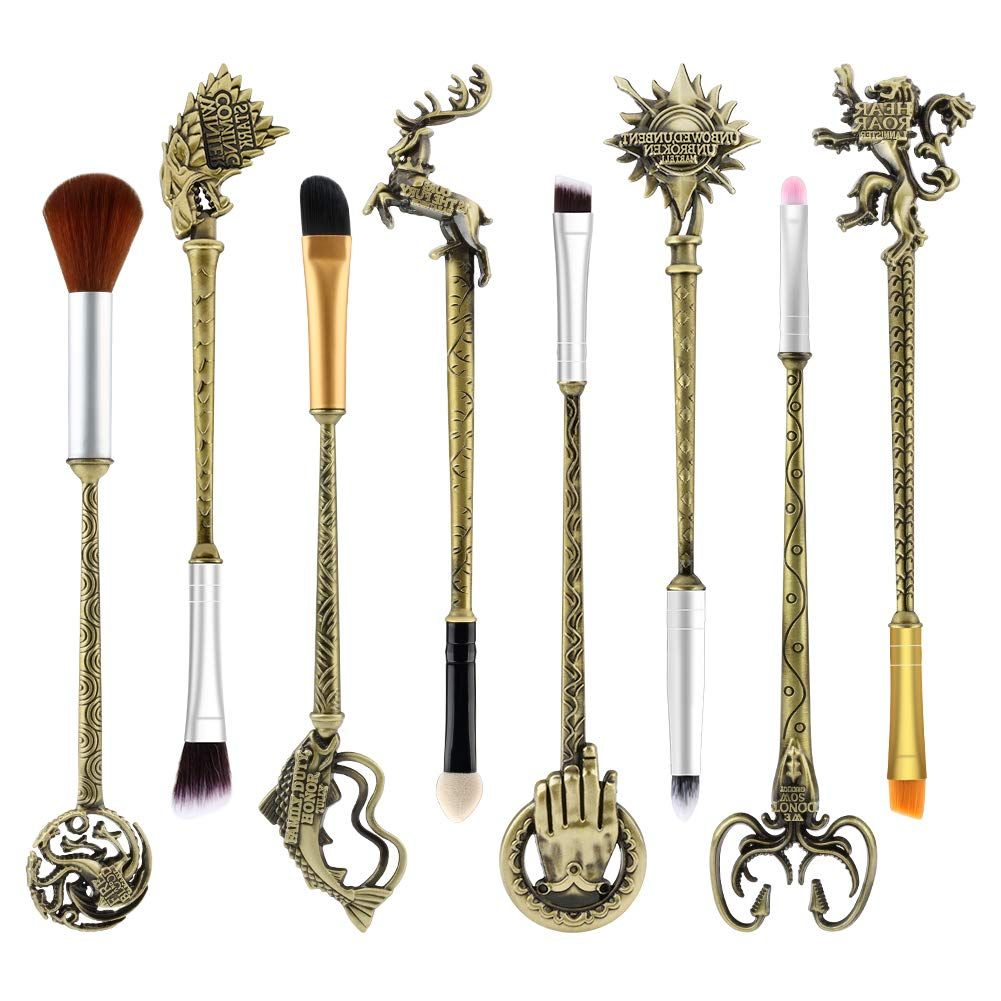 Game of Thrones Makeup Brushes Set in 2020 Makeup brush