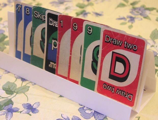 Playing Card Holder Ideal for People with Limited Dexterity pack of 4 coloured