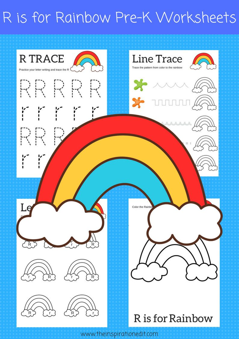 2 Letter R Worksheets R Is For Rainbow Preschool Printables In 2020 Learning Worksheets Preschool Worksheets Color Worksheets For Preschool [ 1123 x 794 Pixel ]
