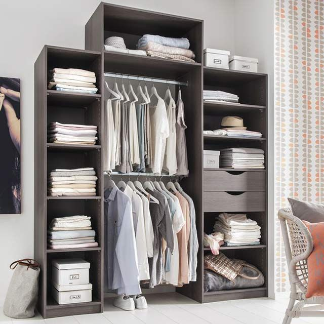 dressing tout en un castorama 120 deco pinterest dressings. Black Bedroom Furniture Sets. Home Design Ideas