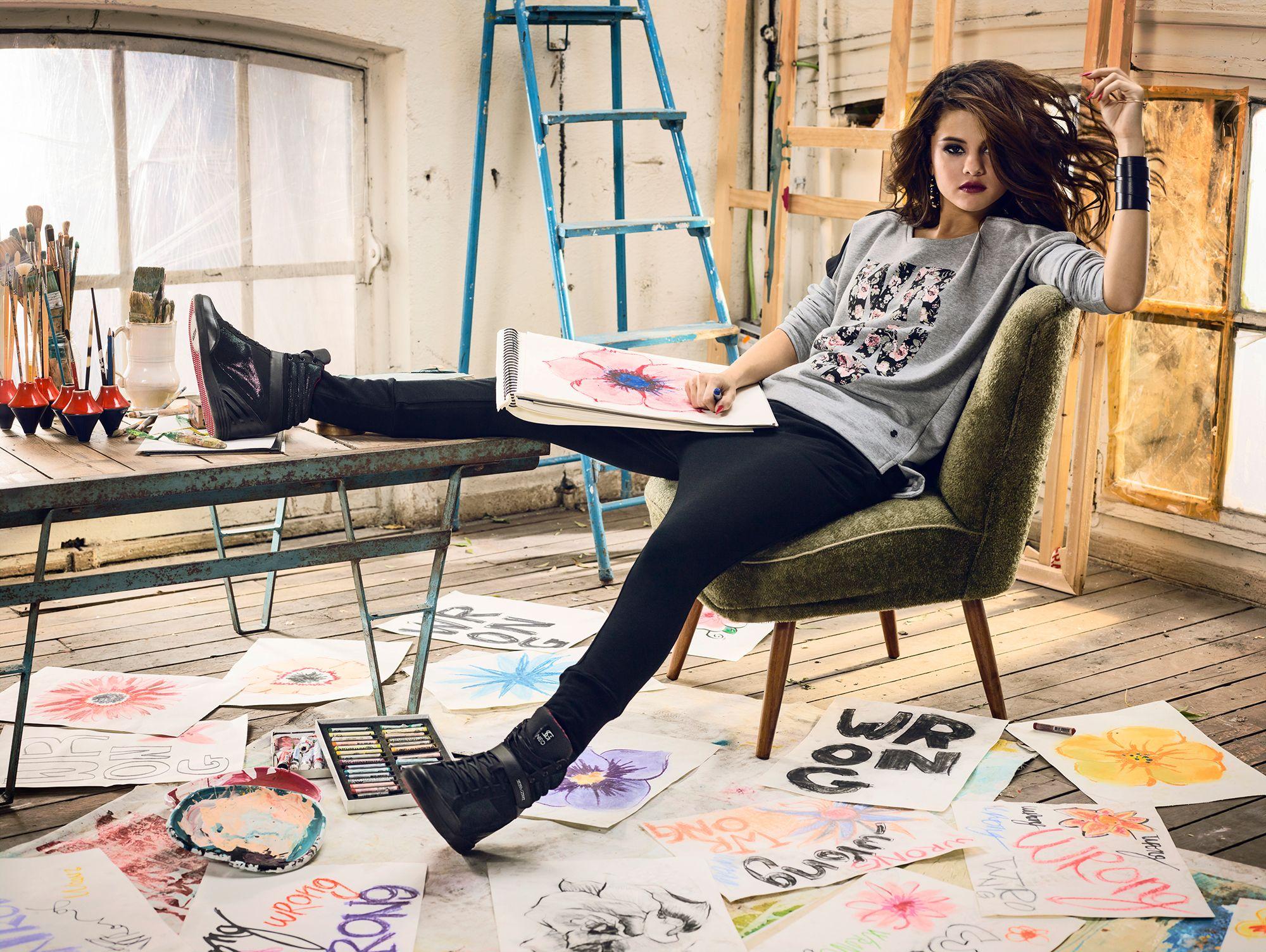 Selena Gomez Adidas Neo Photoshoot 2014