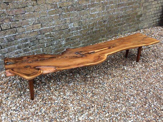 Mid Century Solid Yew Coffee Table Reynolds Of Ludlow Single Plank Coffee  Table Designer Solid Wood Rustic Coffee Table
