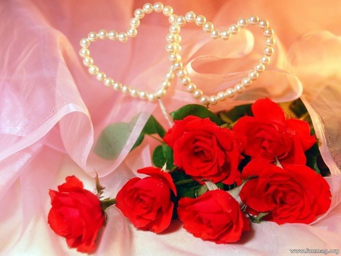 romantic-red-roses-pictures-pearl hearts | W❤Pinterest Group, U ...