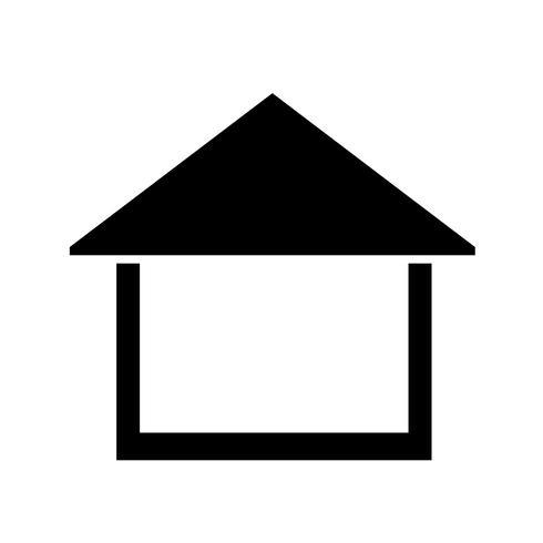 Home Icon Simple Symbol In 2020 Home Icon Free Vector Illustration Real Estate Logo Design