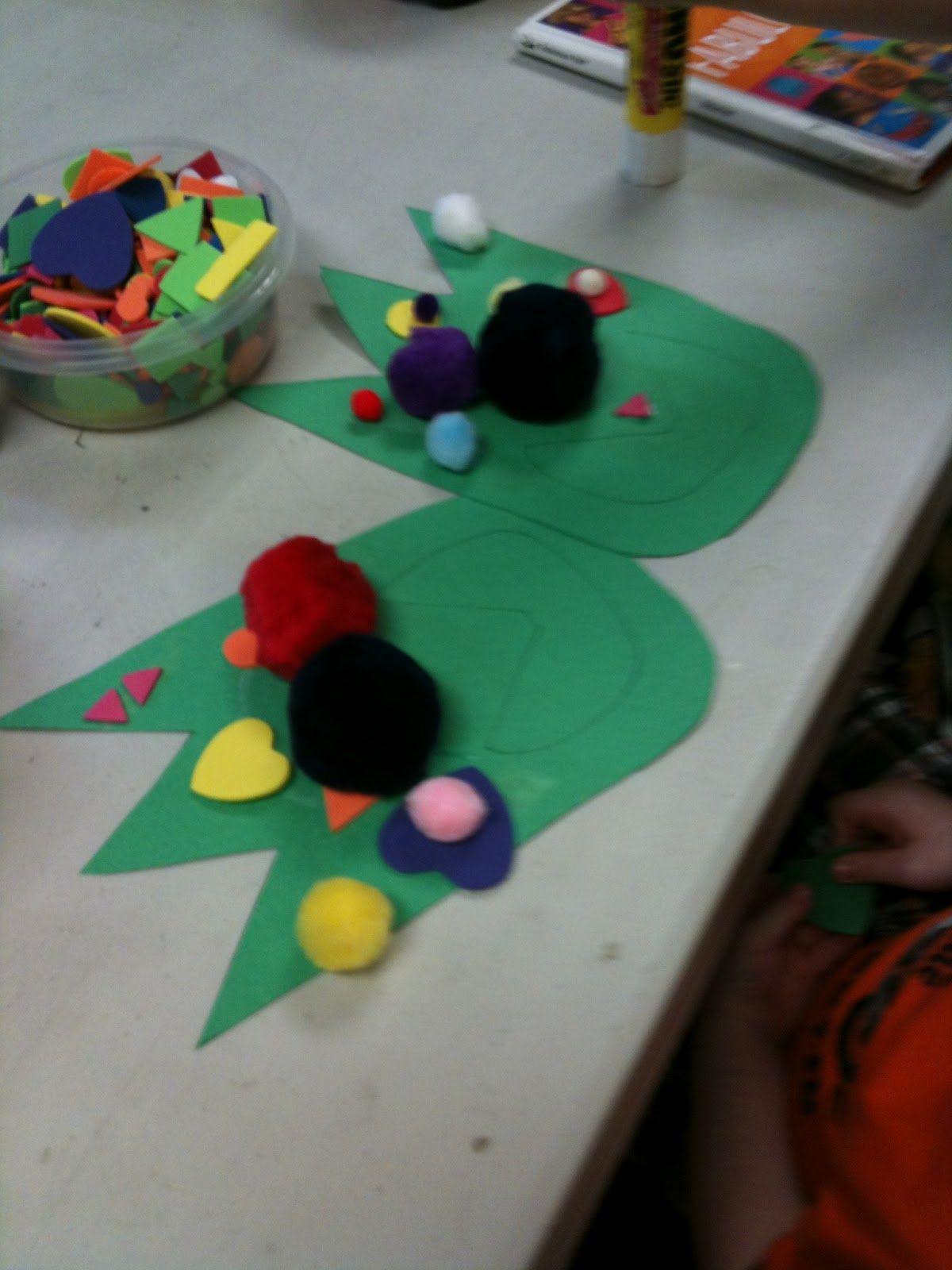 Dinosaur Feet Craft