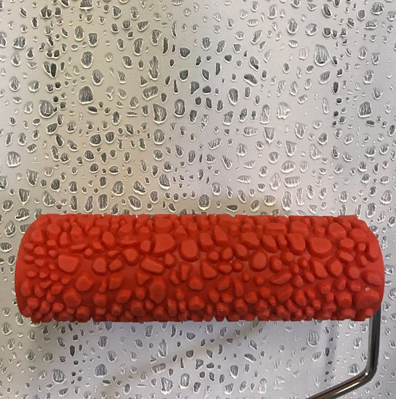 Delightful Ostrich Skin   Decorative Patterned Paint Roller