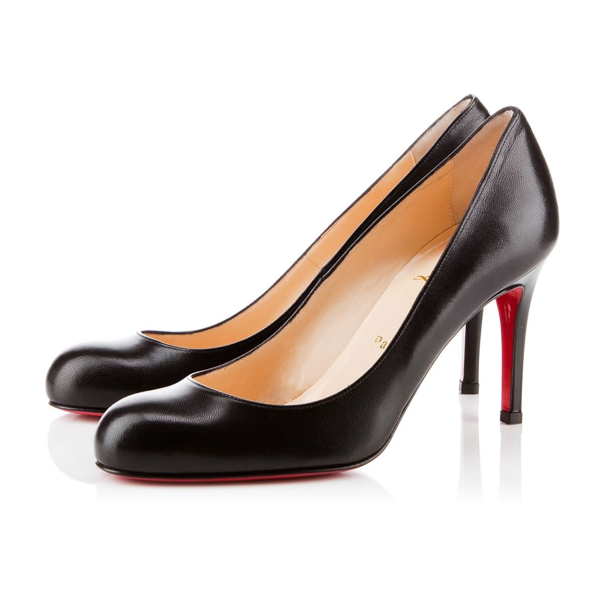 Simple Pump 85 Black Patent Leather - Women Shoes - Christian Louboutin