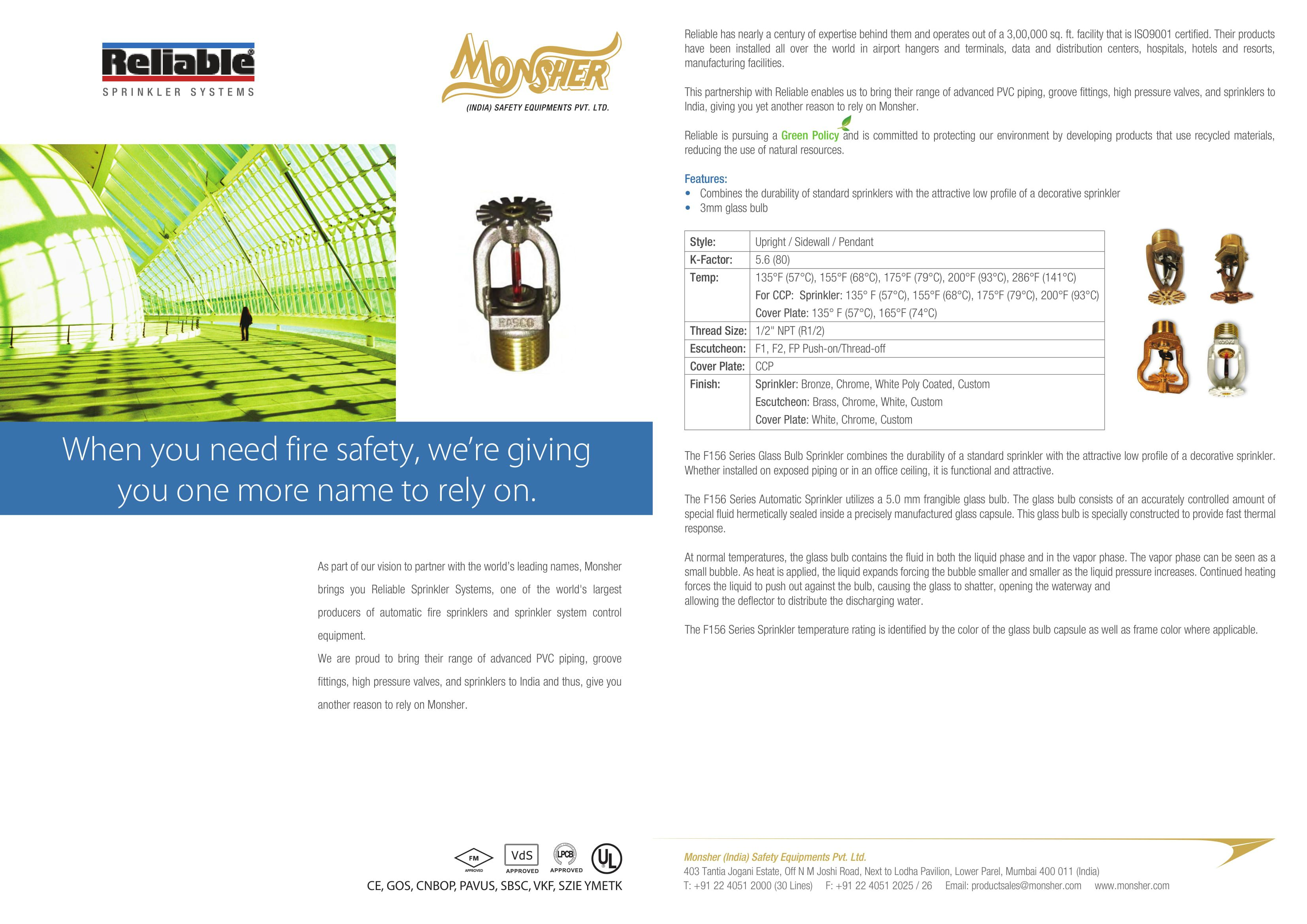 monsher brings you reliable sprinkler systems in india one of the