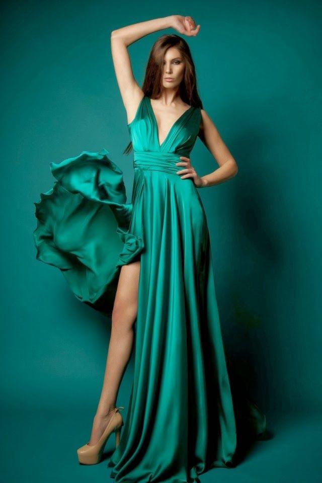 Vestidos de noche a la moda 2016