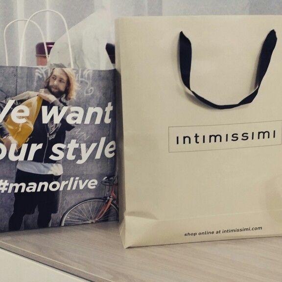 I miei primi danni con i saldi  @intimissimi   #manorlive @manor_official  #shopping #glam #beauty #beautiful #instagood #stylish