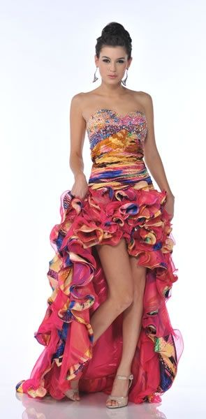 570eed00421 rue 21 strapless high low dresses