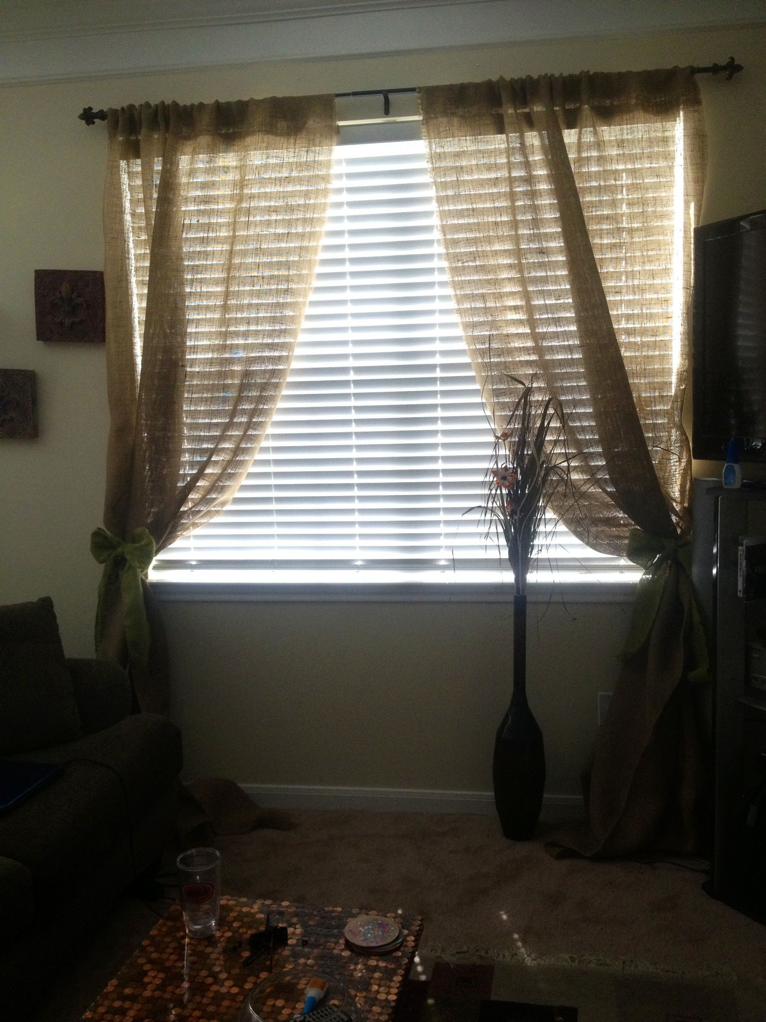 Homemade Curtains Diy curtains fabricWindow Curtains Red curtains