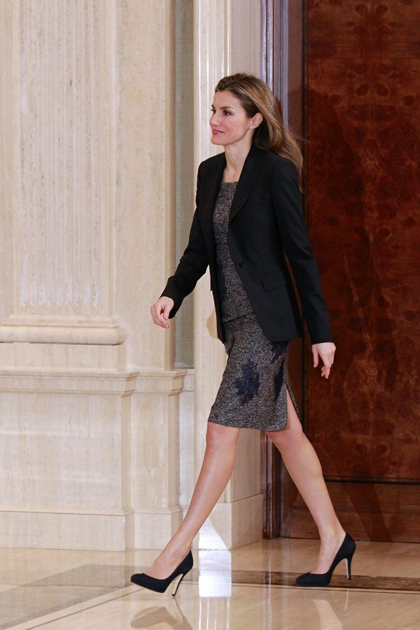 Princess Letizia receives audiences at Zarzuela Palace, Madrid 2/10/2014
