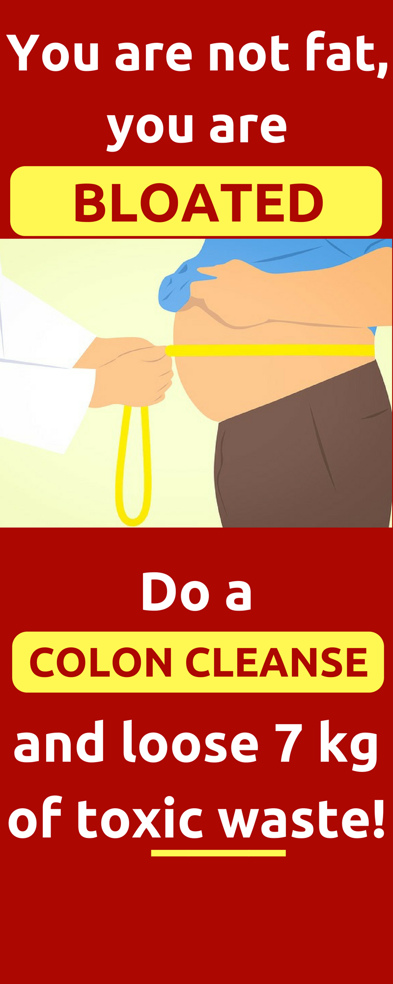 Homemade Cleanse That Will Clean Your Colon Of Toxic Waste. Colon cleansing before and after, colon cleansing detox, colon cleansing recipe, colon cleansing ...
