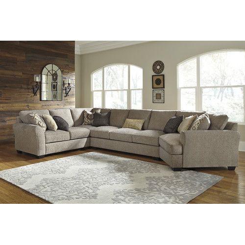 Ashley Furniture North Charleston Sc: Pantomine Large Cuddler Sectional