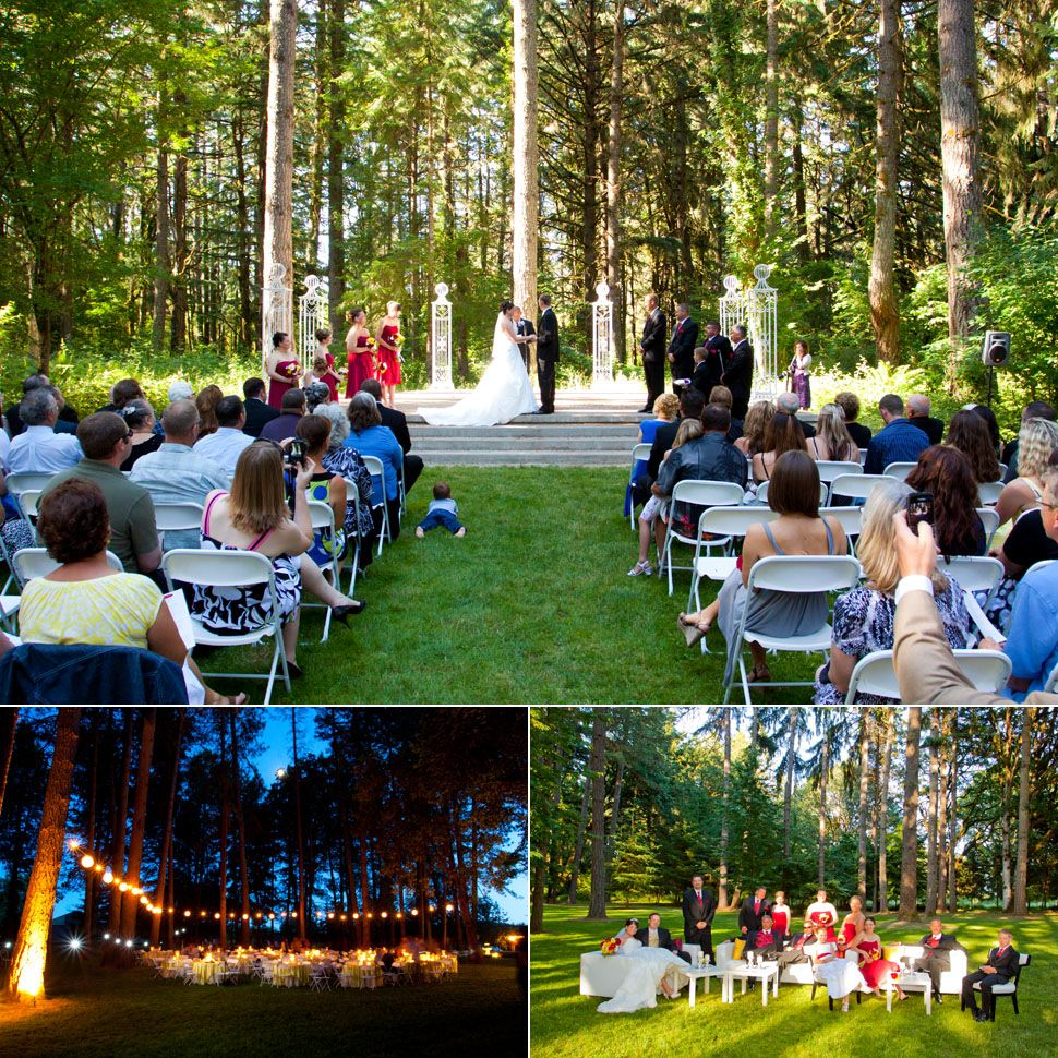 VENUES Dreamwood Estate Eugene Oregon