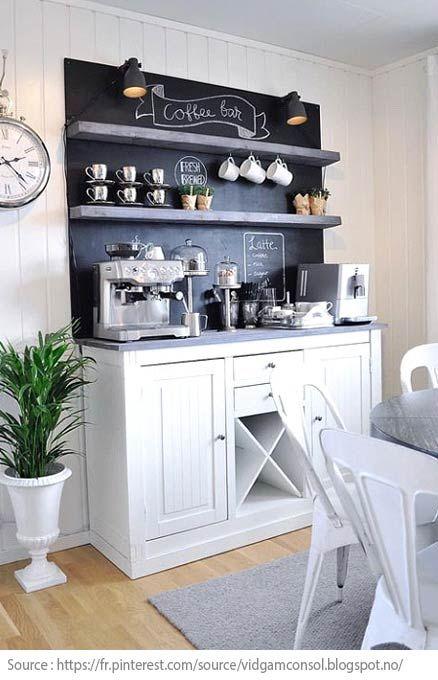 Captivant 10 Idées Pour Créer Un Coin Thé Ou Café à La Maison   5