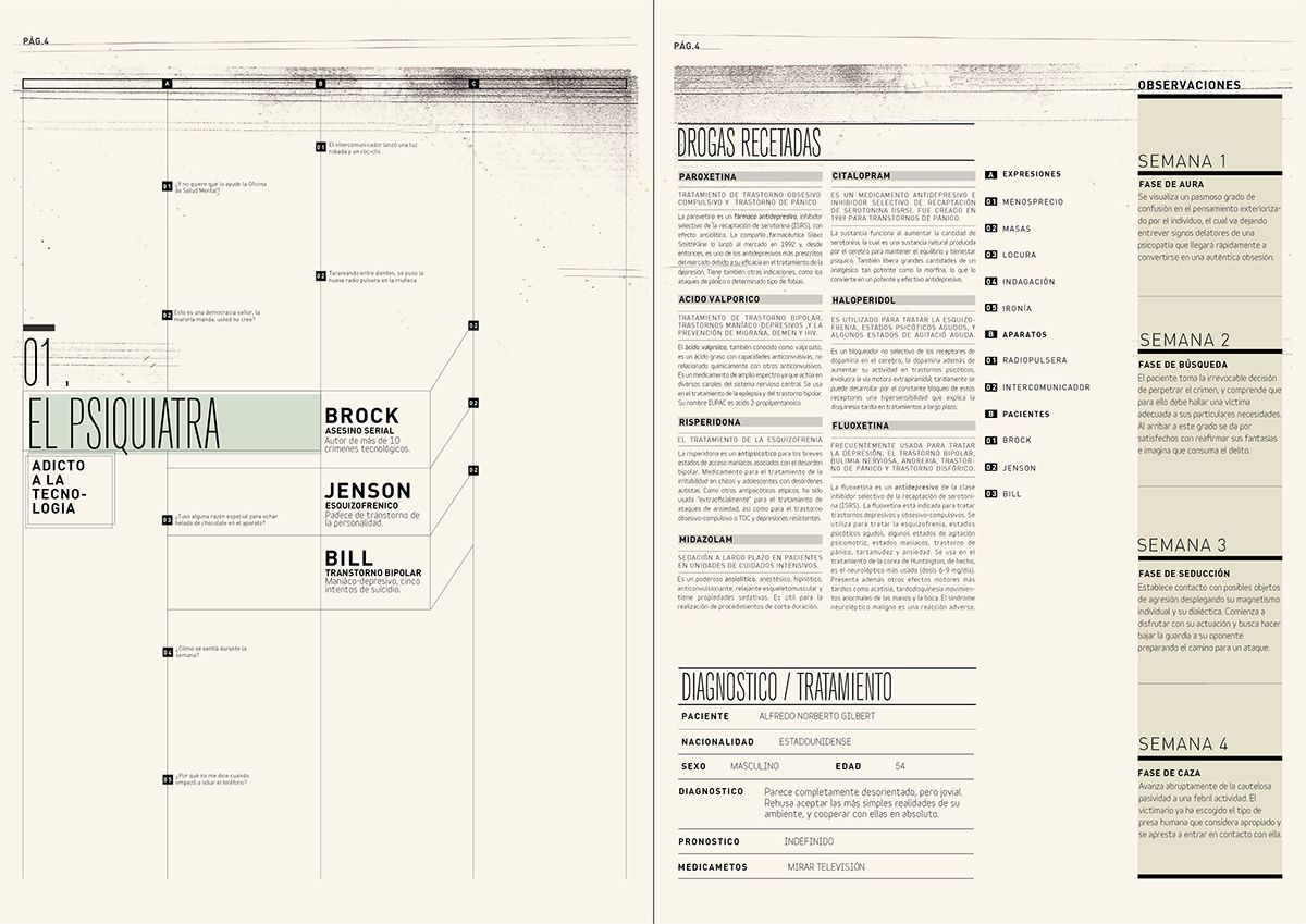 WEB. CUENTOS EN PRESENTE on Behance | GRID | Pinterest | El asesino ...