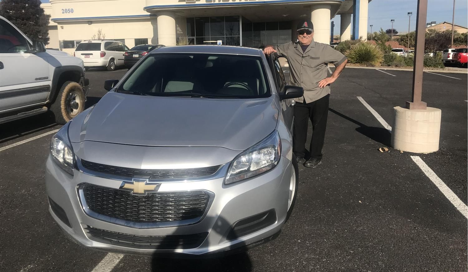 Awesome Congratulations To Hector On Your New 2014 Chevrolet