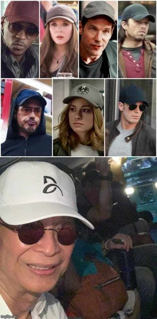 How to disguise yourself in public the Marvel way #howtodisguiseyourself