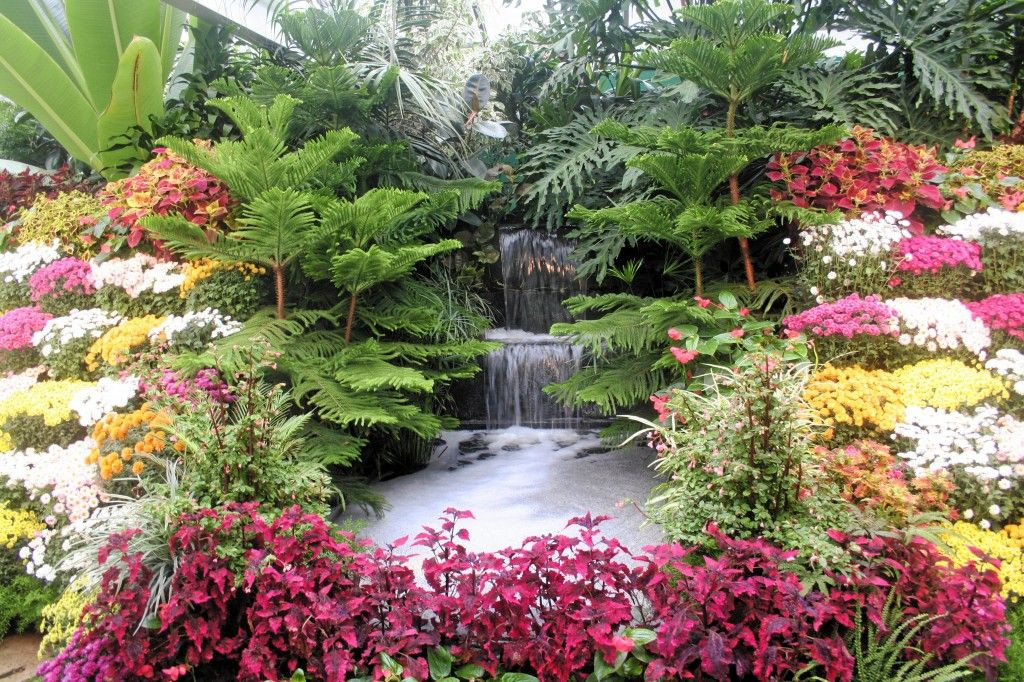Most Beautiful Waterfalls With Flowers Choice Of 400 x 300