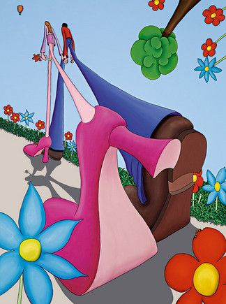 'Best Foot Forward' by Dylan Izaak. Attending the Gallery this June. Please contact the gallery for more info.