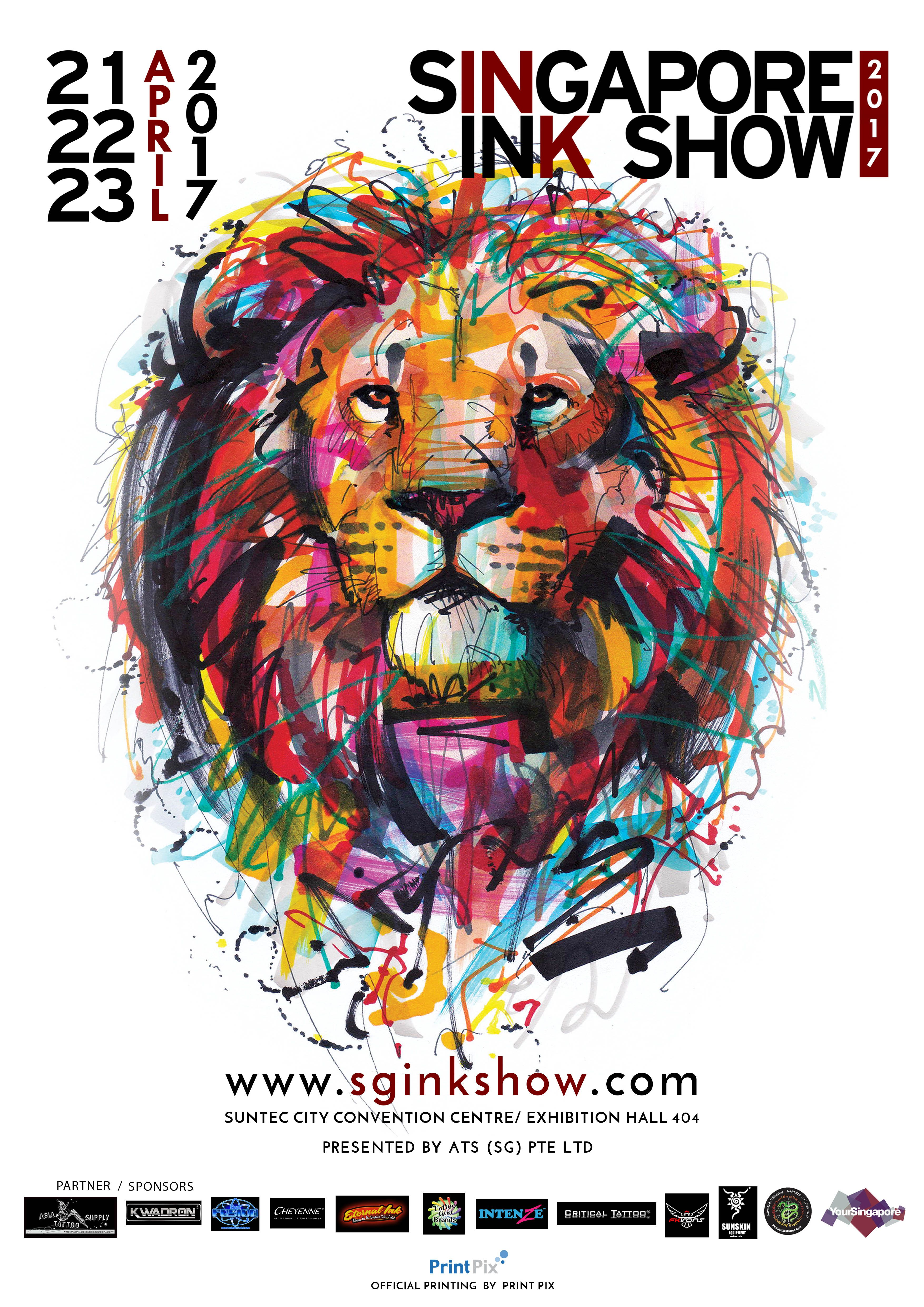 The Singapore Ink Show is the largest gathering of
