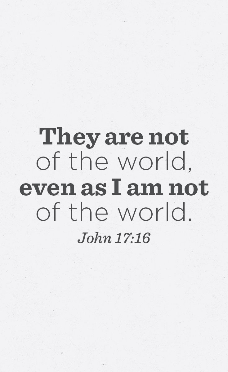 God Gave Us A Strong And Unequivocal Command Concerning The World In 1 John 2