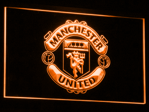 Manchester United Football Club Led Neon Sign Led Neon Signs The Unit Neon Light Signs